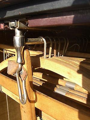 Steam Punk, Mendel & Co. Wardrobe Steamer Trunk, Yale Lock & drawers c. 1900 10
