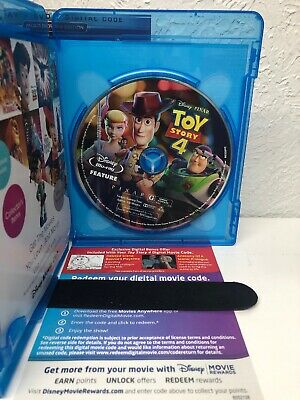 Toy Story 4 Blu-ray + Digital HD (NO DVD INCLUDED) Please Read (BEWARE OF FAKES) 2