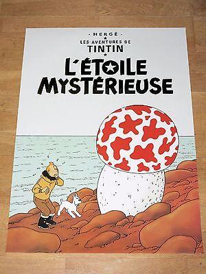 22 Tintin Poster Set - Tintin & Struppi Posters Together New Mint Top Rar 4 • CAD $117.99