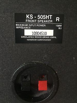 Pair Kenwood Speaker 15* 8. ( 2PC )