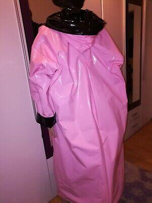 ZWEISEITLICH 2in1 PVC Regencape Lack Gummimantel Raincoat Regenmantel Vintage 7