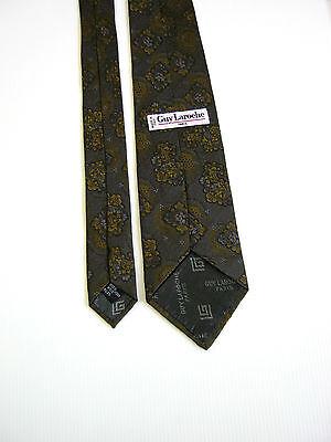 Guy Laroche Paris  Vintage 80 Seta Silk Fatta A Mano Hand Made In Italy 2