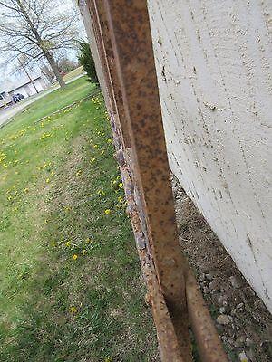 Antique Victorian Iron Gate Window Garden Fence Architectural Salvage Door #315 5