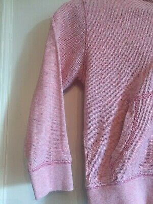 Girls Pink Zipped Long Sleeved Hoodie from Next Age 4 years 4