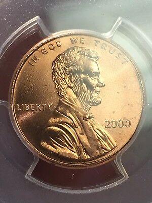 "2000 Lincoln Cent PCGS MS66RD ""Cheerios"" Cent - RicksCafeAmerican.com 6"