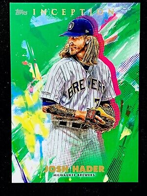 2020 Topps INCEPTION - GREEN Parallel Base Cards - U Pick to Complete Your Set!! 3