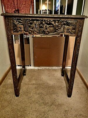 Pre-WWII, 1930's-1940's. Asian Nesting Tables - George Zee. Set of 4. 6