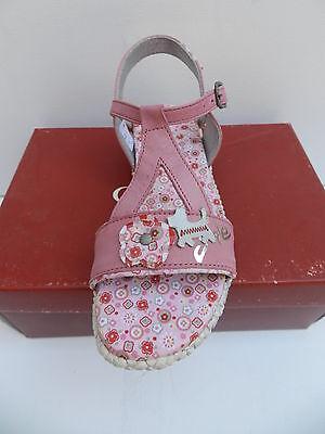 Chipie Mitoune Sandales Fille 32 Chaussures Sabots Nu-pieds Fleurs Azalee Neuf 6