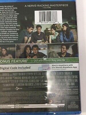 Parasite 2020 Blu Ray + Digital HD BRAND NEW!! SHIPS FAST!!! 5