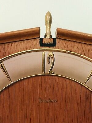 Junghans Vintage Pendulum Wall Clock With Brass Weights 5