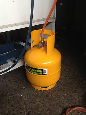 Propane Lpg Tank Gas Adaptor Hose For Refrigeration A/c Orange Hose Only 2