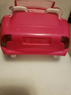 Mattel BARBIE Pink Chevy Convertible Glam Drop Top 2 Seater Great Condition Rare 4