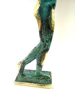 Ancient Greek Bronze Museum Statue Replica of Discus Thrower of Myron Olympics 8