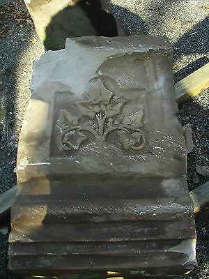 Antique Vintage Rare Architectural Cut Stone 11