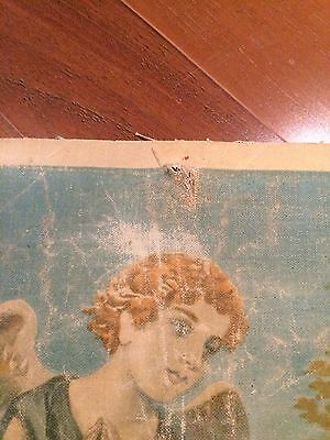 Luigi Morgari Fresco Painter (Canvas) Mary Holding Baby Jesus and Joyous Angels 7