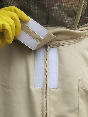 PREMIUM QUALITY Bee Suit Fencing Veil Style - Camel/Biscuit. All Sizes 4