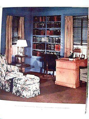 "Vintage 1939 Booklet ""Home Decorator & Color Guide by Rockwell Kent (Artist) * 3"