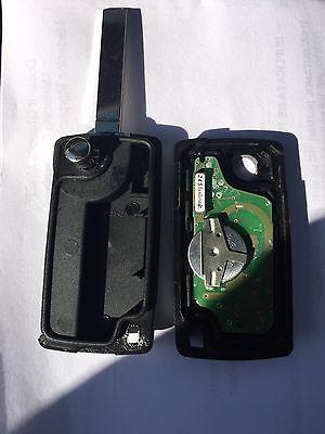 ASK Clé PLIP télécommande Peugeot 407 Fréquence 433/434MHZ ASK* RÉFÉRENCE CE0523 2