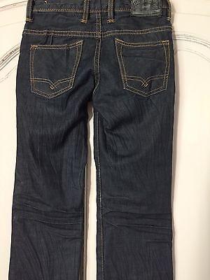 Scotch Shrunk Dark Waxy Feel  Jeans Age 8 2