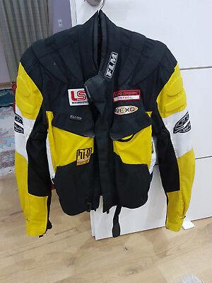 Motorrad Jacke Racing L Flm Größe Gelb Textiljacke Herren OPkiuXTZ