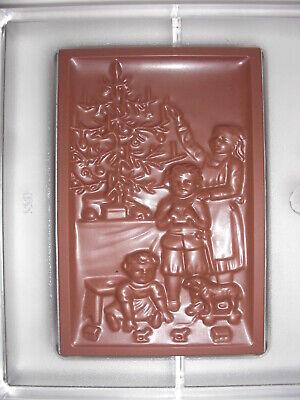 SCHOKOLADENFORM WEIHNACHTEN NIKOLAUS NEW chocolate mold ANTON REICHE # 518 NEU