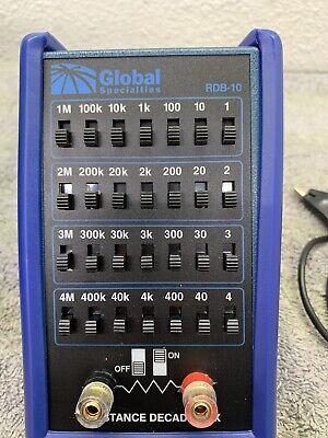 Global Specialties RDB-10 Handheld Resistance Decade Box 7