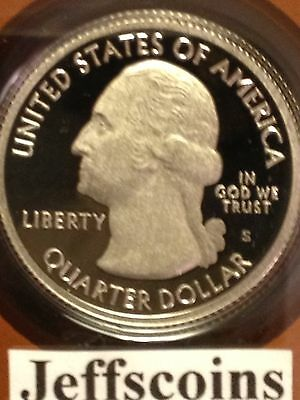 2013 P D S S S Quarter Mt Rushmore National Park Clad &90% Silver Proofs 5 Coin 2