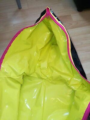 Adult Baby Schlafsack OVERALL GUMMI LACK PLASTIK PVC GEFÜTTERT SLEEPING BAG