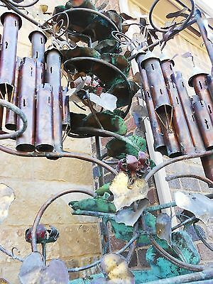 Extreme Offer!!! C. Jere Orig. 5' Tall Huge Castle Copper/brass Water Fountain 9