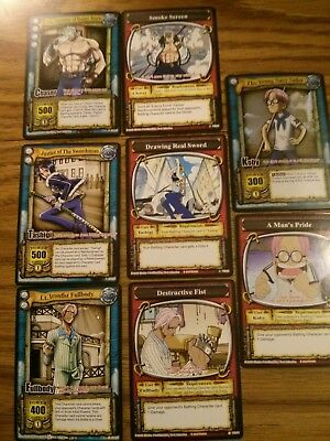 Bandai One Piece Collectible Card Game CCG The Quest Begins 6 Booster Pack Lot