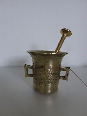 Antiker Apothekenmörser mit Pistill - BRONZE- 19.Jahrhundert / BIEDERMEIER 3