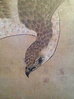 A Large and Important Chinese Antique Painting on Silk, Signed, Framed.