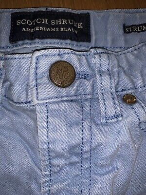 Gorgeous Boy's Cotton Designer Jeans.. By Scotch Shrunk & Soda Age 6 - LOOK! 👀! 5