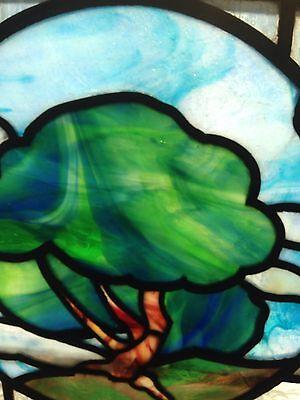 Large Landscape Landing Window Stainglass 4
