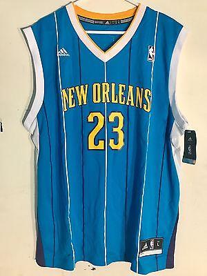 Adidas Nba Jersey New Orleans Hornets Anthony Davis Teal Sz