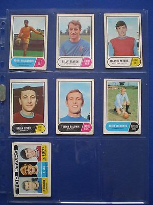 A&BC - Footballers 1969/70 - Bubblegum Cards * Choose The One's You Need * 7