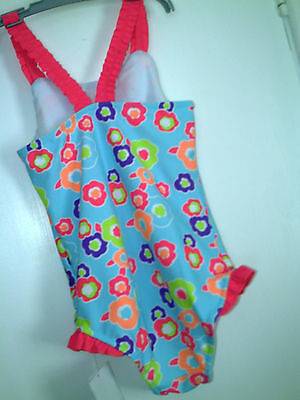 Girls  Swimsuit Set Age 3-4 Years Bnwt- Freepost 2