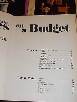 3 ANTIQUE Books-heirloom-John Bly.on a budget-Curtis & F DAVIS,SAGER,BLAKEMORE e 8