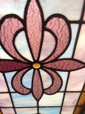 Nice Antique Stained Glass Window Sg 24 2