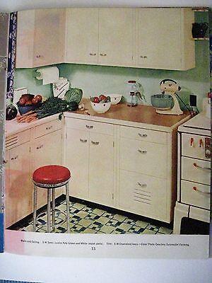 "Vintage 1939 Booklet ""Home Decorator & Color Guide by Rockwell Kent (Artist) * 9"