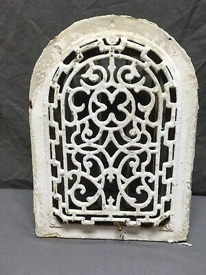 Antique Arched Top Heat Grate Wall Register Decorative Arch 8x12 01-19R 4