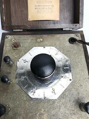 Antique Phillips-Drucker Manufacturers Quackery Device St. Louis, MO. 10