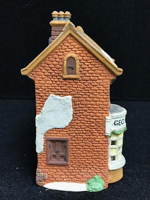 Dept 56 Dickens Village Series Geo Weeton Watchmaker Porcelain Collectible 4