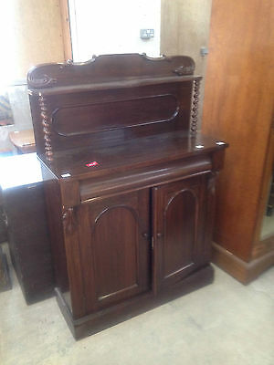 Good William IV Gothic Arch Rosewood Sideboard Buffet Chiffonier CabinetCupboard 2