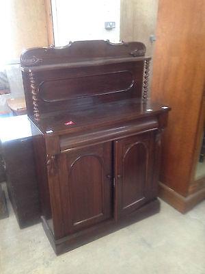 Good William IV Gothic Arch Rosewood Sideboard Buffet Chiffonier CabinetCupboard 2