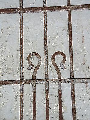 Antique Victorian Iron Gate Window Garden Fence Architectural Salvage Door #66 5