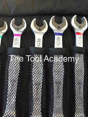 Wera Tools  Joker Spanner Wrench Set 8-19mm Ratchet Metric 11Pce With Pouch Case