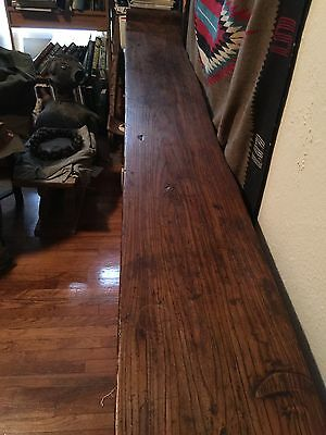 Magnificent Rare 1800's Wood Plank Chinese Altar Table 11