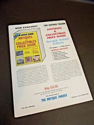 The Antique Trader Price Guide To Antiques August 1991 Edition 3