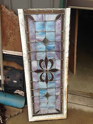Nice Antique Stained Glass Window Sg 24 5